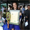 Hingis Inducted in Tennis Hall of Fame