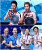 YONEX All England Open: Equipped with New ASTROX 88 Racquets, Gideon & Sukamuljo Repeat!