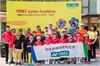 China's Pioneering Golf Professional Coaches at a Yonex Junior Golf Academy Event in Shenzhen